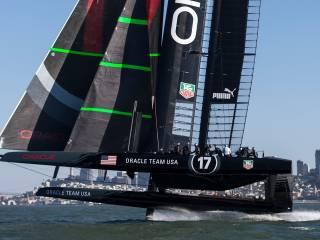 Dassault Systèmes per Oracle Team 41 320x240 - [Fotogallery] ORACLE TEAM USA difende il titolo in America's Cup con la tecnologia di Dassault Systèmes