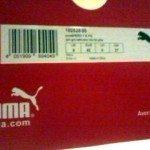 il dettaglio della scarpa la Puma evoSPEED 1