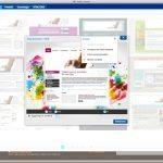 Schermata scelta layout e impostazioni 150x150 - Per realizzare un sito professionale a basso costo e velocemente la soluzione è 1&1 Internet MyWebsite