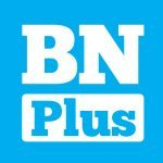 """Logo quadrato BN Plus alta1 150x150 - """"BuoneNotizie™Plus"""": il Catalizzatore Digitale di Felicità per Smartphone!"""