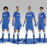 i calciatori testimonial con la nuova maglia del Chelsea 150x150 - La nuova maglia del Chelsea svelata da Adidas: ecco i dettagli della divisa 2013/14
