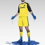 i calciatori testimonial con la nuova maglia del Chelsea da portiere 150x150 - La nuova maglia del Chelsea svelata da Adidas: ecco i dettagli della divisa 2013/14