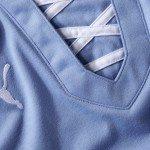 il colletto vintage nella nuova maglia Uruguay 2013 150x150 - La nuova maglia per la Confederations Cup 2013 dell'Uruguay 2013 realizzata da Puma: tecnologia moderna, stile antico