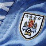 lo stemma della AUF nella nuova maglia Uruguay 2013 150x150 - La nuova maglia per la Confederations Cup 2013 dell'Uruguay 2013 realizzata da Puma: tecnologia moderna, stile antico