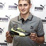 Marco Verratti con le evoSPEED 1.2 FG 150x150 - Le migliori scarpe da calcio per portieri: ecco Puma King, la scarpa di Buffon