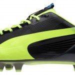 nellaltro lato della Puma evoSPEED 1.2 FG però sarà presente il classico formstripe 150x150 - La scarpa da calcio di Sergio Agüero, Verratti e Falcao: Puma presenta le nuove evoSPEED 1.2