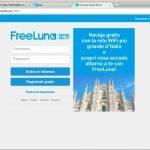 loginpage 150x150 - Decreto del Fare del Governo Letta: oggi FreeLuna Social Wi-Fi è ufficialmente operativa nella Città di Milano
