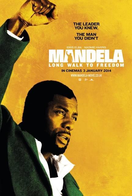 mandela long walk to freedom idris elba poster uk mid - Idris Elba, dall'apocalisse di Pacific Rim a Mandela, ecco il trailer di Long Walk to Freedom