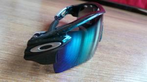 proteggono anche dai raggi laterali gli oakley radarlock 300x169 - I migliori occhiali da sole sportivi: unboxing di Oakley Radarlock del Tour de France.