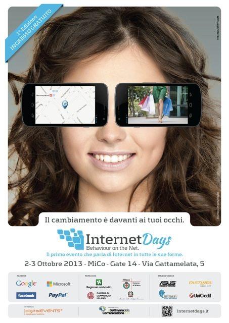 Levento digitale di Milano InternetDays presenta lagenda delle due giornate temi focus speaker 2 - L'evento digitale di Milano InternetDays presenta l'agenda delle due giornate: temi, focus, speaker