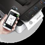 SAMSUNG M2070FW AMBIENTATA2 150x150 - Samsung porta in Italia  le prime stampanti al mondo con tecnologia NFC