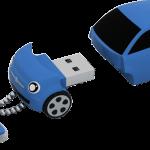 fiat 500 blue 3 4 chaine open 150x150 - La nuova fiat 500 diventa una splendida chiavetta  USB ecco Fiat Flash Drive 2.0