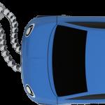 fiat 500 blue top chaine close 150x150 - La nuova fiat 500 diventa una splendida chiavetta  USB ecco Fiat Flash Drive 2.0