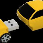 fiat 500 yellow 3 4 open 150x150 - La nuova fiat 500 diventa una splendida chiavetta  USB ecco Fiat Flash Drive 2.0