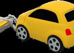 fiat 500 yellow back 3 4 chaine close 150x108 - La nuova fiat 500 diventa una splendida chiavetta  USB ecco Fiat Flash Drive 2.0