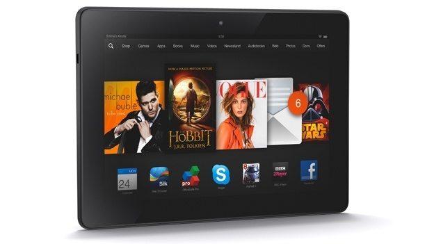 Anti iPad Il nuovo Tablet Kindle Fire Hdx 89 il ritorno di Amazon - Il nuovo Tablet Amazon Fire sarà low cost