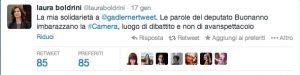Boldrini Tweet