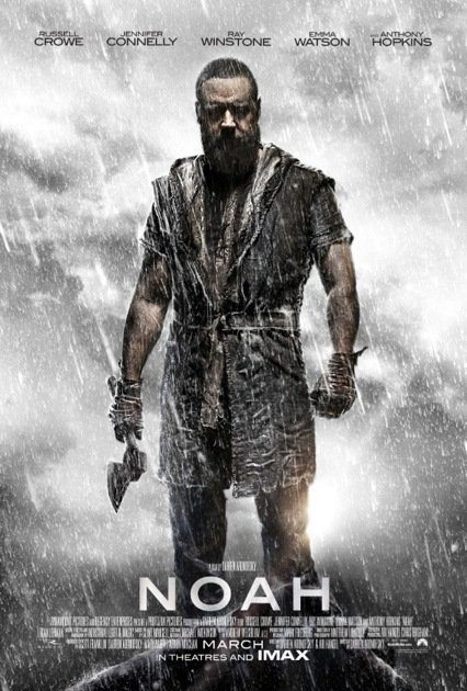 Noah Russell Crowe Poster - Russell Crowe attende il diluvio universale nel nuovo poster di Noah