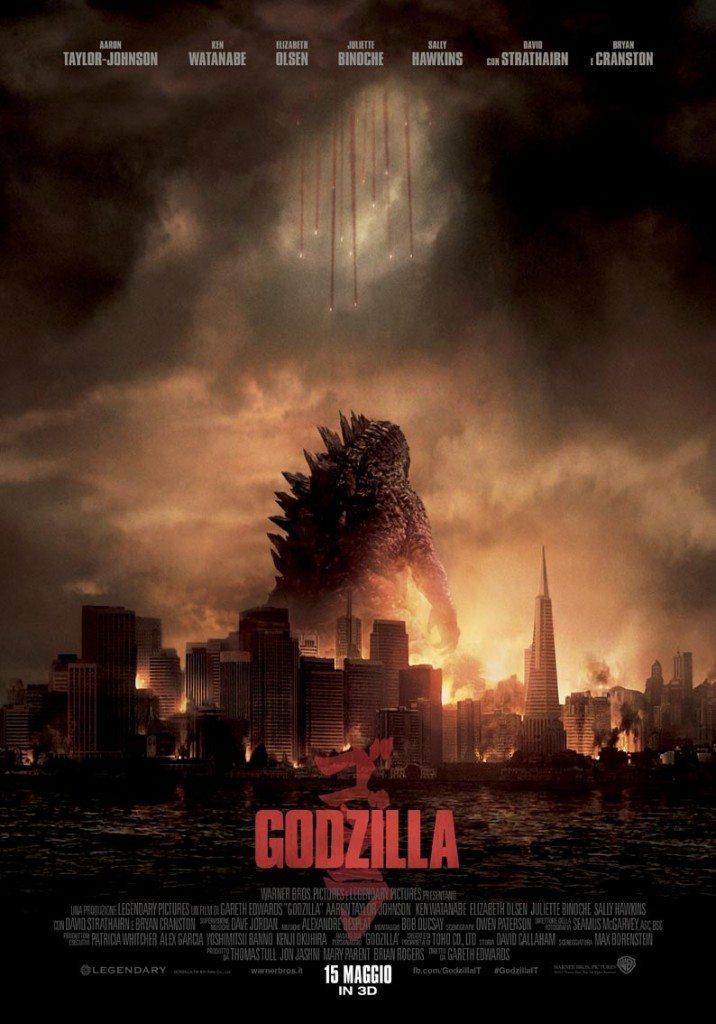 Godzilla Poster Italia 02 716x1024 - Godzilla semina distruzione nel nuovo trailer ufficiale italiano