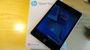 unboxing HP Slate 8 Pro 5