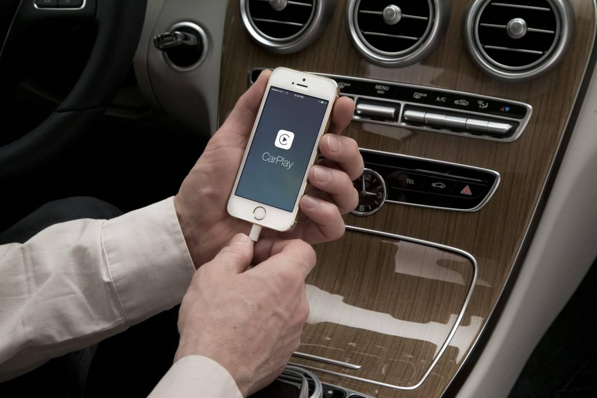 CarPlay Apple Classe C 11 1160x773 - Ora Uber si prenota su Google Maps, ecco le istruzioni su come fare