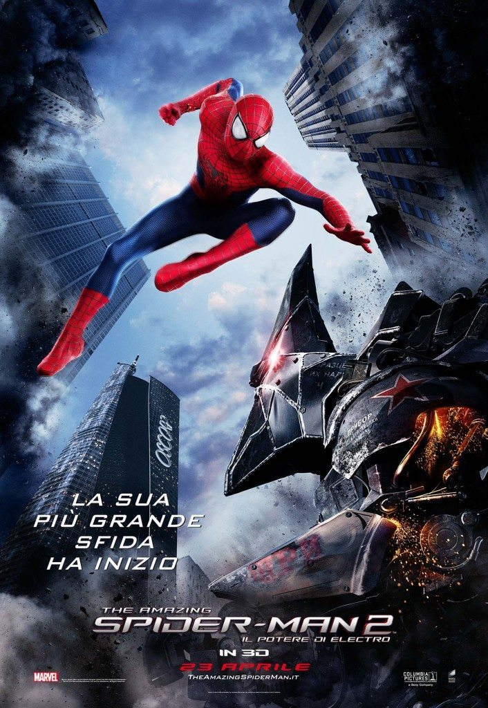 the amazing spider man 2 il potere di electro poster italia 02 1 706x1024 - Spidy, Green Goblin e Rhino nei nuovi poster di The Amazing Spider-Man 2