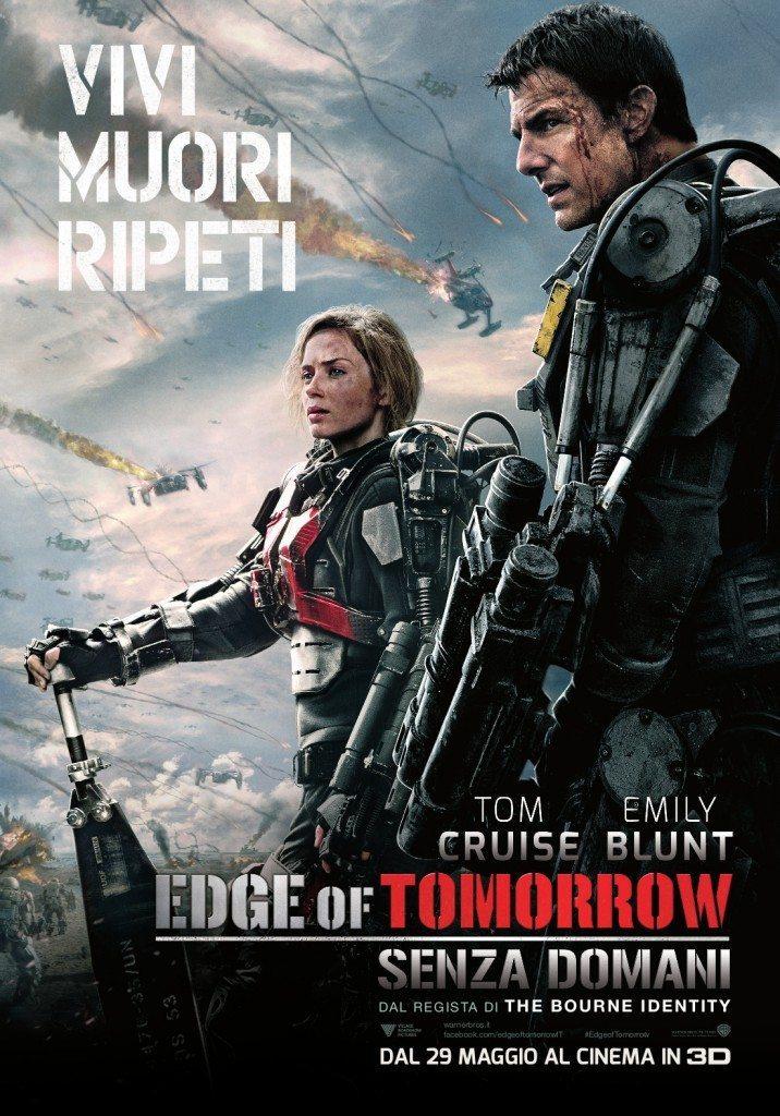Edge of Tomorrow Senza Domani Poster Italia 01 716x1024 - Tom Cruise nel nuovo poster di Edge of Tomorrow - Senza Domani