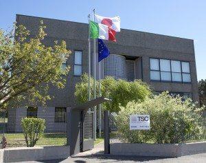 La sede del Textile Solution Center a Fino Mornasco (Co)