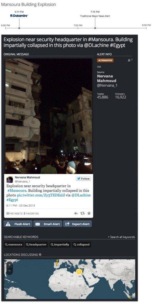 News Mansoura 512x1024 - La rivoluzione del giornalismo digitale passa da Dataminr: l'algoritmo che trasforma i tweet in notizie