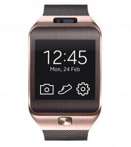 04 Gear 2 gold 1 268x300 - Gear 2 Solo da Samsung arriva il nuovo smartwatch con SIM che sostituisce lo smartphone?