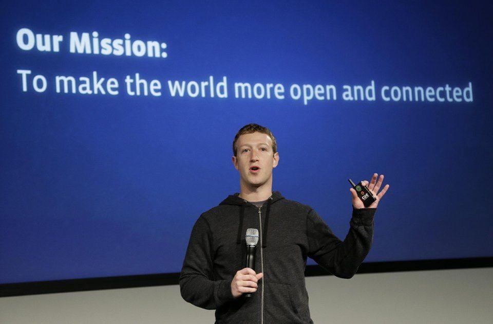Facebook internet.org 1 - Parigi, Facebook si dedica allo sviluppo dell'intelligenza artificiale