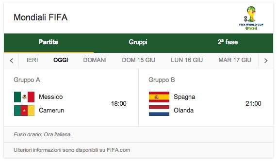Schermata 2014 06 13 a 10.15.23 - Brasile 2014: il secondo doodle di Google dedicato ai Mondiali