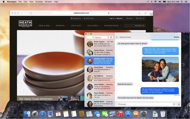 Yosemite osx design translucent - Apple presenta OS X Yosemite: Completamente nuovo, completamente Mac