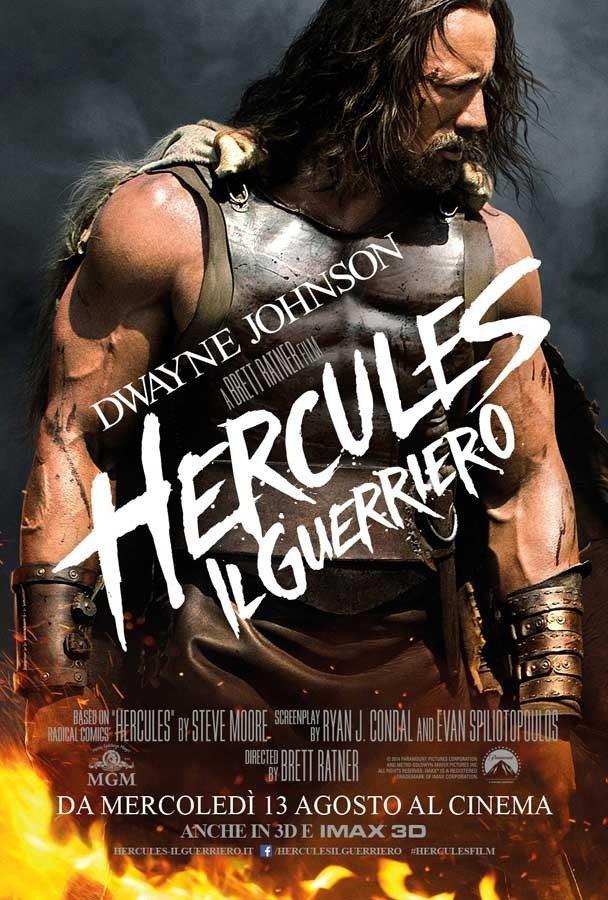 content italy 1 sht teaser online imax - Hercules - Il Guerriero: un nuovo poster italiano con il protagonista Dwayne Johnson