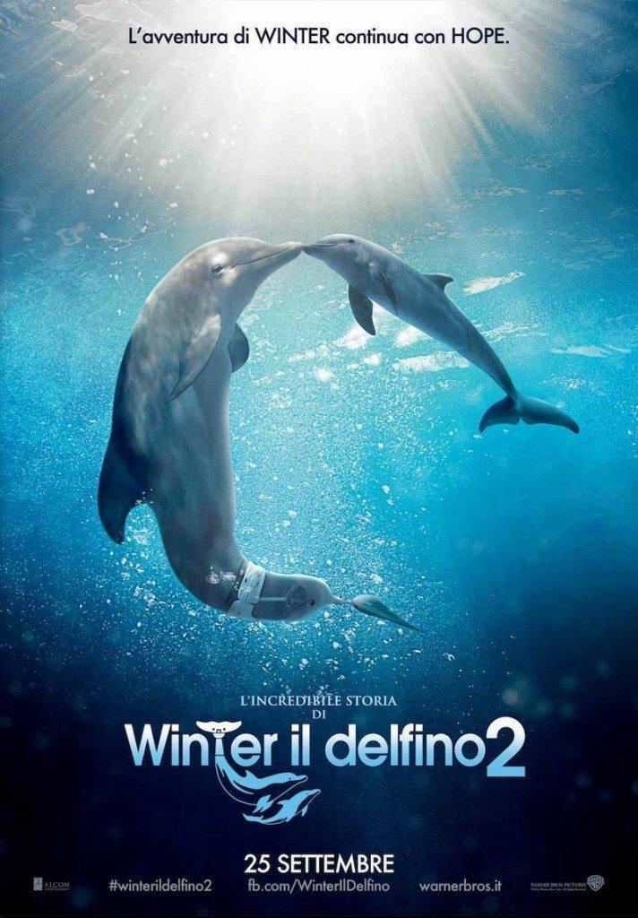 content winterildelfino2ita 712x1024 - Trailer italiano e poster per L'Incredibile Storia di Winter il Delfino 2