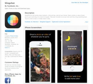 slingshot facebook error 300x271 - Dopo il no di Snapchat, Facebook crea l'app Slingshot e la pubblica per errore