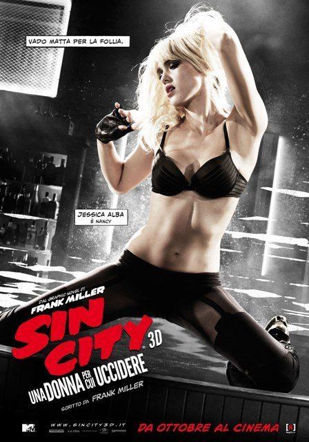 Sin City 2 Teaser Character Poster Italia 01 - Nuovi character poster italiani per Sin City: Una Donna Per Cui Uccidere