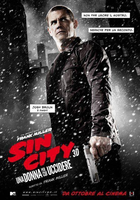 Sin City 2 Teaser Character Poster Italia 02 - Nuovi character poster italiani per Sin City: Una Donna Per Cui Uccidere