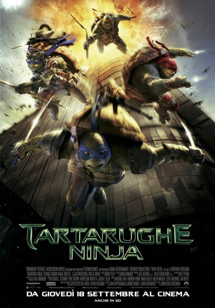 Tartarughe Ninja Poster Italia 02 716x1024 - Tartarughe Ninja - Ecco il terzo trailer ufficiale italiano e nuovo spot