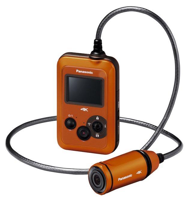 Wearable Camcorder HX A500 Slant - Arriva nei negozi Panasonic A500, la prima camcorder indossabile 4K 25p al mondo