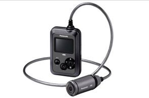 Wearable Camcorder HX A500 black 2 - Arriva nei negozi Panasonic A500, la prima camcorder indossabile 4K 25p al mondo