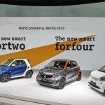 World premiere smart fortwo and forfour 1 150x150 - La nuova Smart fortwo a prova di Classe S