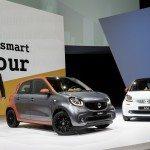 World premiere smart fortwo and forfour 19 150x150 - La nuova Smart fortwo a prova di Classe S
