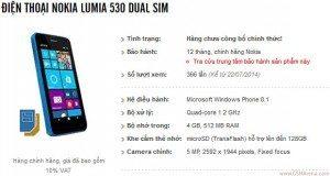 gsmarena 001 101 300x160 - Anteprima Nokia Lumia 530 in esclusiva mondiale si mostra in Vietnam