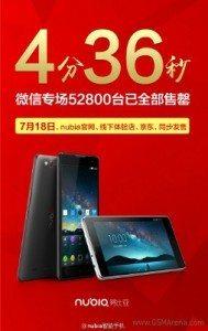 gsmarena 001 61 189x300 - Le incredibile vendite dello smartphone Android ZTE che vende online 52.800 Nubia Z7 in meno di cinque minuti
