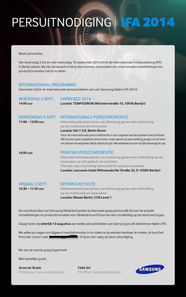 Samsung Unpacked Galaxy Note 4 IFA Berlino - Samsung Unpacked: il Galaxy Note 4 verrà ufficializzato il 3 settembre all'IFA di Berlino