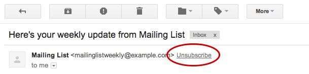 nuova Gmail newsletter e lingue orientali 3 - Gmail: ora è più semplice cancellarsi dalle newsletter