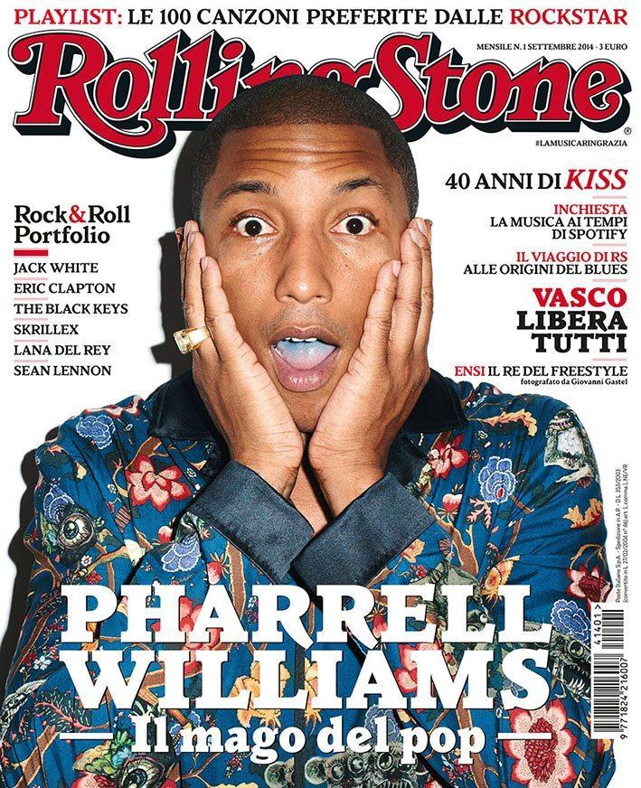 1 RS cover - Rolling Stone di nuovo in edicola #lamusicaringrazia