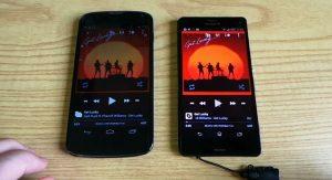 Sony Xperia Z3 Compact VS Nexus 4