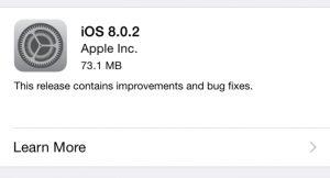 iOS 8.0.2 300x162 - Apple rilascia iOS 8.0.2 e risolve i bug di iPhone 6 e Touch ID